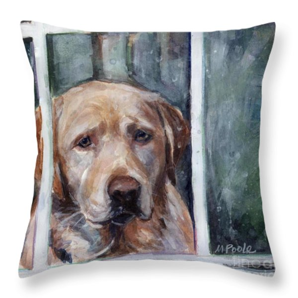 Homebody Throw Pillow by Molly Poole