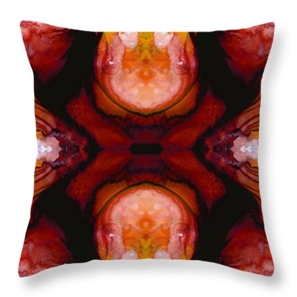 Honesty - Visionary Art By Sharon Cummings Throw Pillow by Sharon Cummings