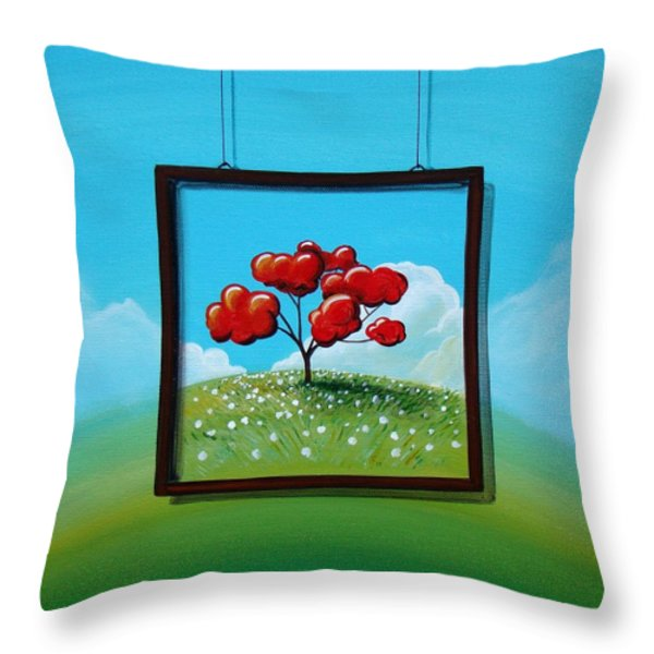 Hope Throw Pillow by Cindy Thornton
