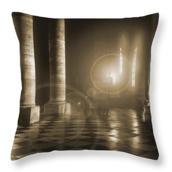 Hope Shinning Through Throw Pillow by Mike McGlothlen