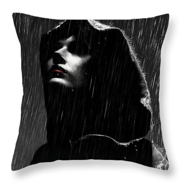 Hopeless Throw Pillow by Mario  Perez
