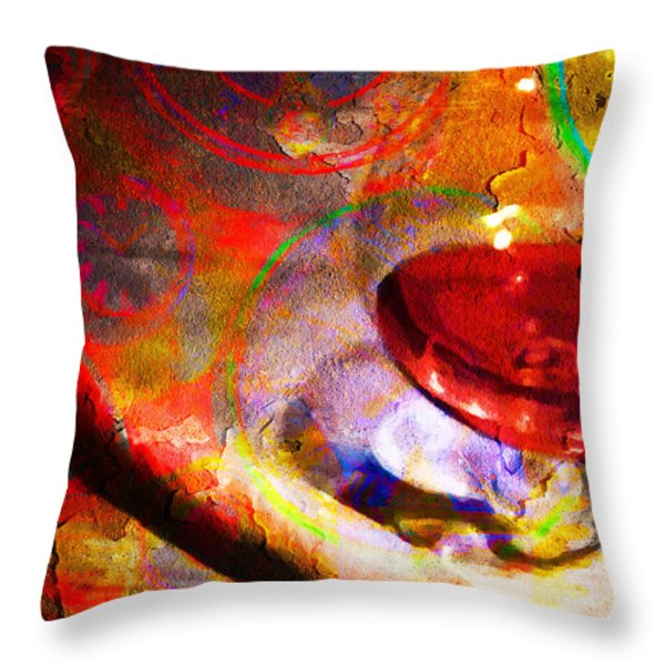 Hors d Age Cognac And Stogie Throw Pillow by Wingsdomain Art and Photography