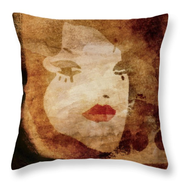 Hot And Cold Throw Pillow by Carol Leigh
