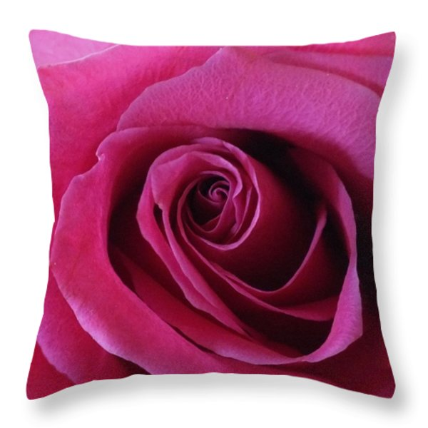 Hot Pink II Throw Pillow by Anna Villarreal Garbis