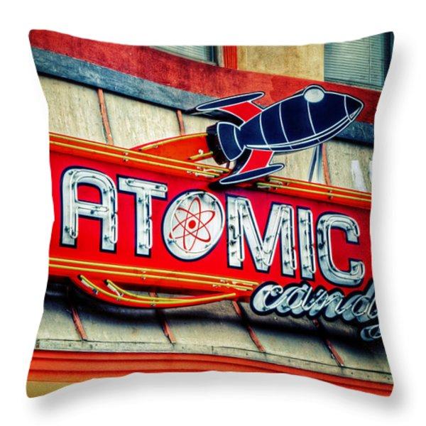Hot Stuff Throw Pillow by Joan Carroll