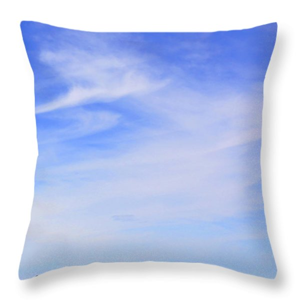 House On The Hill Throw Pillow by Mike McGlothlen