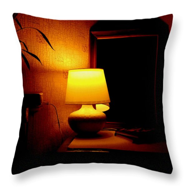 Hover Throw Pillow by Svetlana Nilova