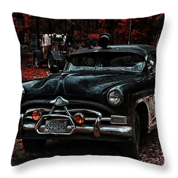 Hudson Trooper Cruzer Throw Pillow by Todd and candice Dailey