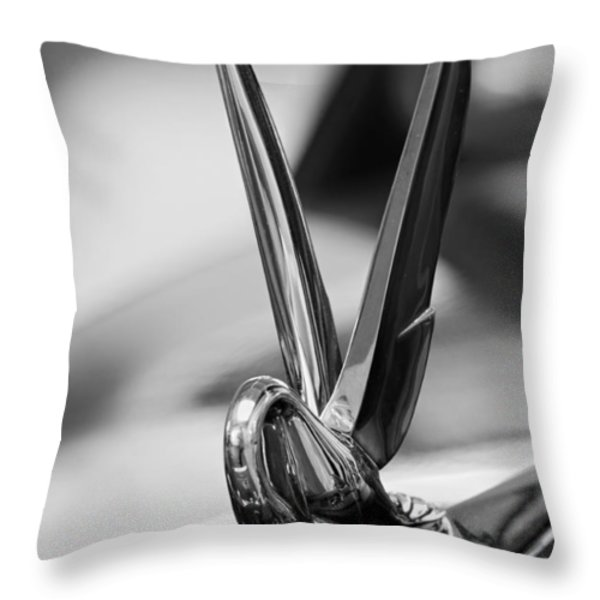Humble Packard Throw Pillow by Kurt Golgart