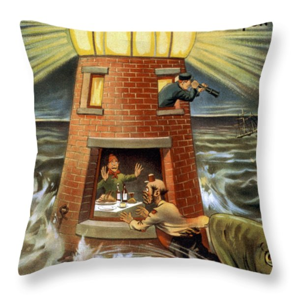 I always was a Jonah Throw Pillow by Aged Pixel