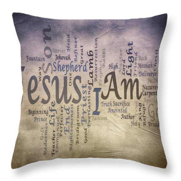 I Am 2 Throw Pillow by Angelina Vick
