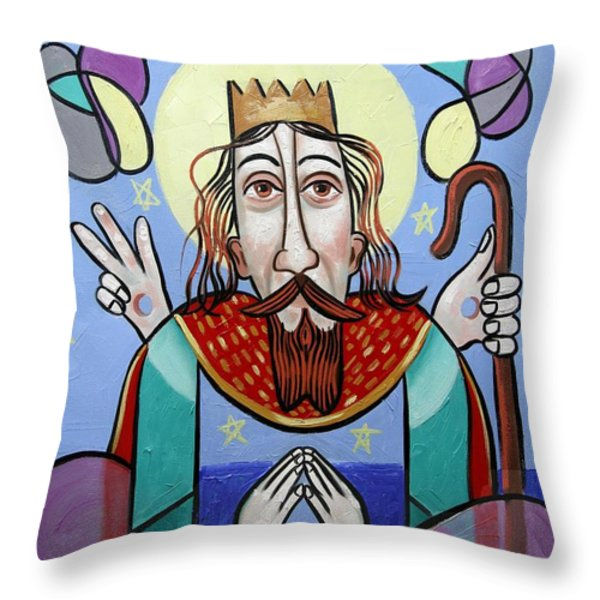 I Am The Way The Truth And The Light Throw Pillow by Anthony Falbo