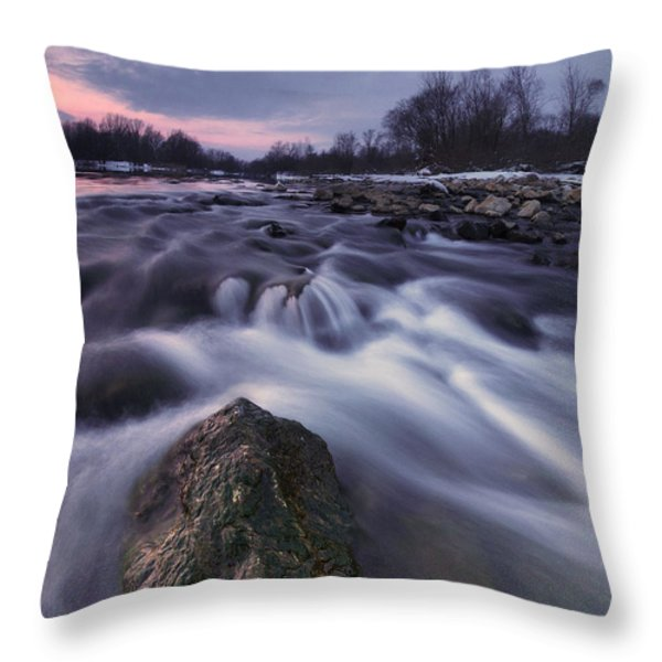I Follow River Throw Pillow by Davorin Mance