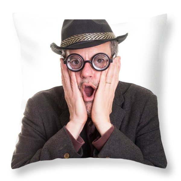 I Forgot Your Birthday Throw Pillow by Edward Fielding