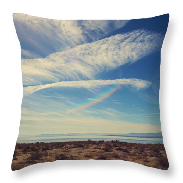 I Hope And I Dream Throw Pillow by Laurie Search