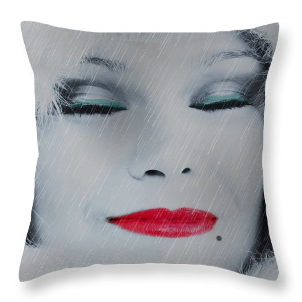 I LOVE TO SMELL FRESH RAIN Throw Pillow by EricaMaxine  Price