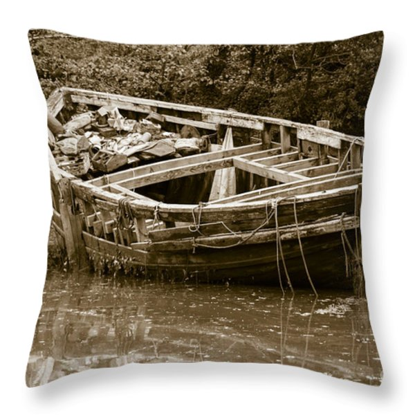 I Need A Couple Of Planks Throw Pillow by Brian Roscorla