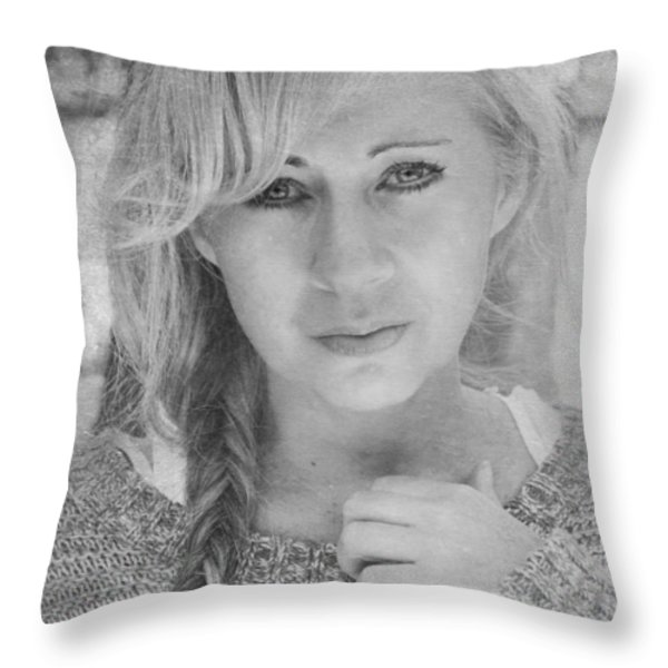 I Still Breathe Your Name Throw Pillow by Laurie Search