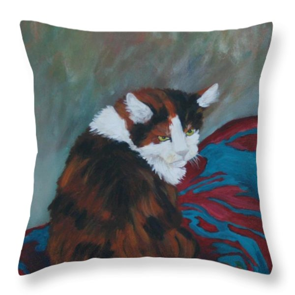 I Want My Lap Throw Pillow by Gail Daley