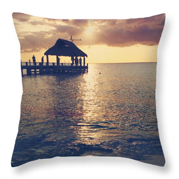 I Will Feel Eternity Throw Pillow by Laurie Search