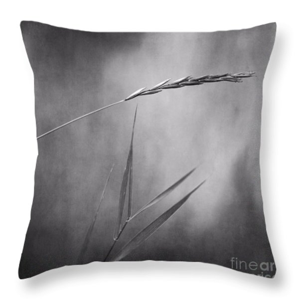 I will hold you in black and white Throw Pillow by Priska Wettstein