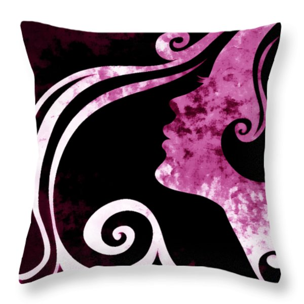 I Will Wait For You 1 Throw Pillow by Angelina Vick