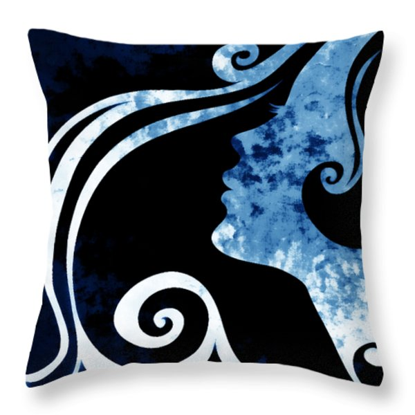 I Will Wait For You 2 Throw Pillow by Angelina Vick