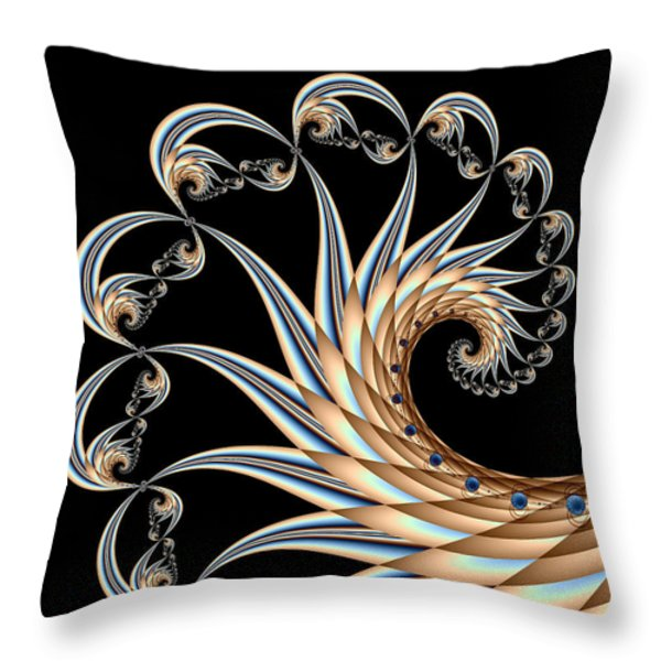 Icarus Throw Pillow by Kevin Trow