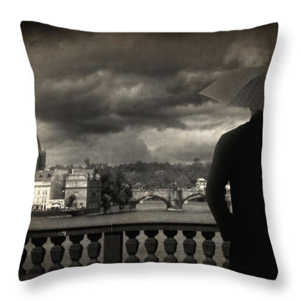 If Throw Pillow by Taylan Soyturk