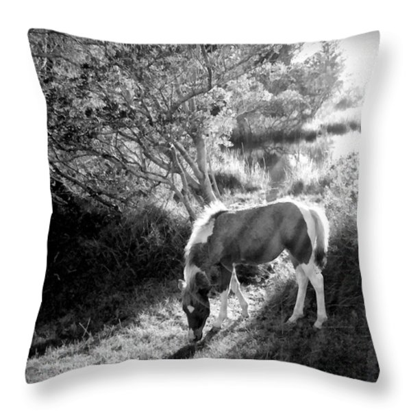 If there's a heaven... Throw Pillow by Janine Riley