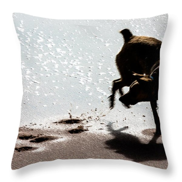 If You Need A Friend Throw Pillow by Edgar Laureano