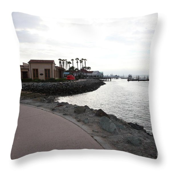 Il Fornaio Italian Restaurant In Coronado California 5d24370 Throw Pillow by Wingsdomain Art and Photography