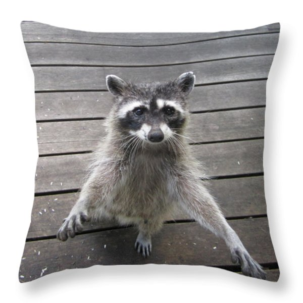 I'll Dance On One Foot For Ya Throw Pillow by Kym Backland