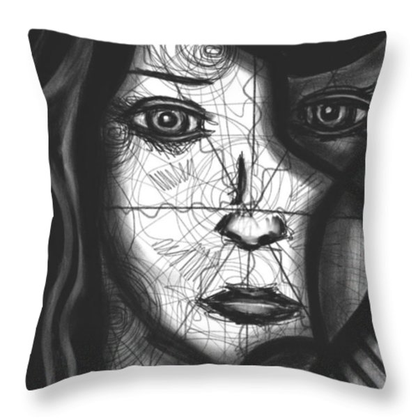 Illumination of Self Throw Pillow by Daina White