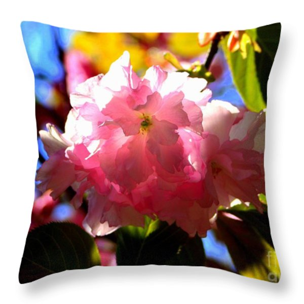 Illumination Throw Pillow by Patti Whitten