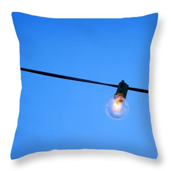 Illumination Throw Pillow by Scott Norris