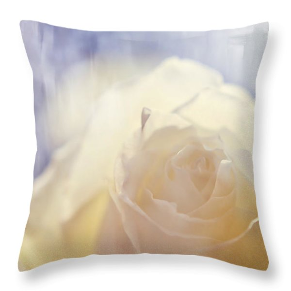 Illusion Throw Pillow by Jenny Rainbow