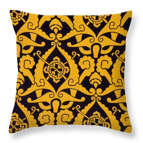 Illustration From Studies In Design Throw Pillow by Christopher Dresser