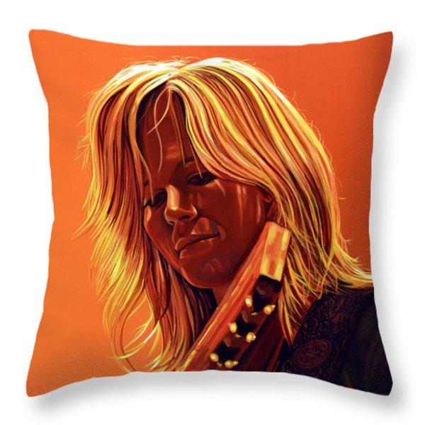 Ilse DeLange Throw Pillow by Paul  Meijering