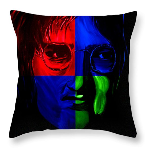 Imagine Throw Pillow by Mark Moore