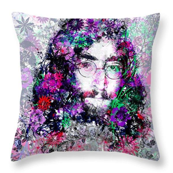 Imagine Throw Pillow by MB Art factory