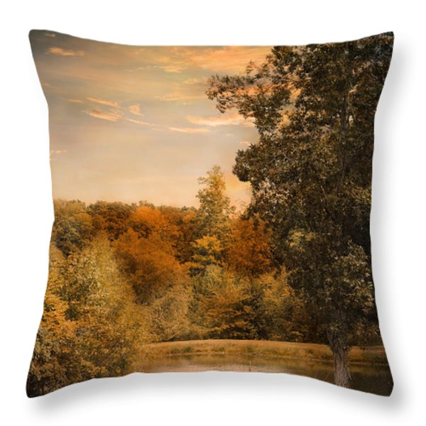 Impending Autumn Throw Pillow by Jai Johnson