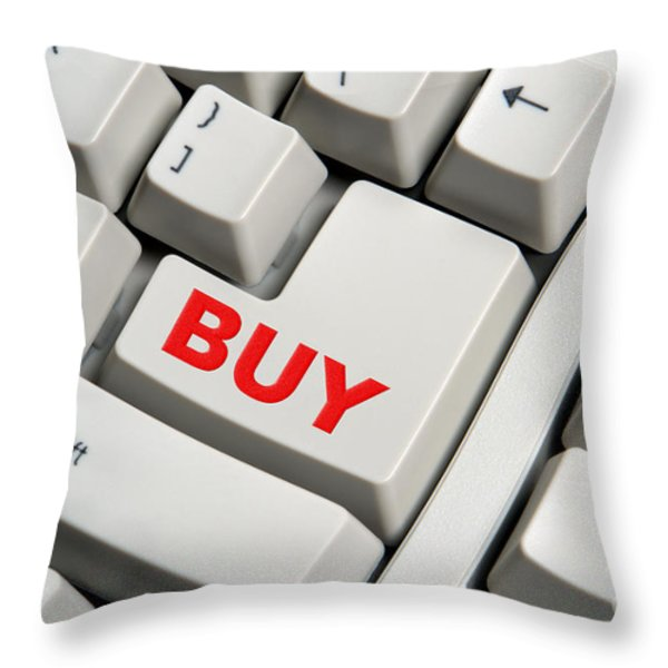 Impulse Throw Pillow by Olivier Le Queinec