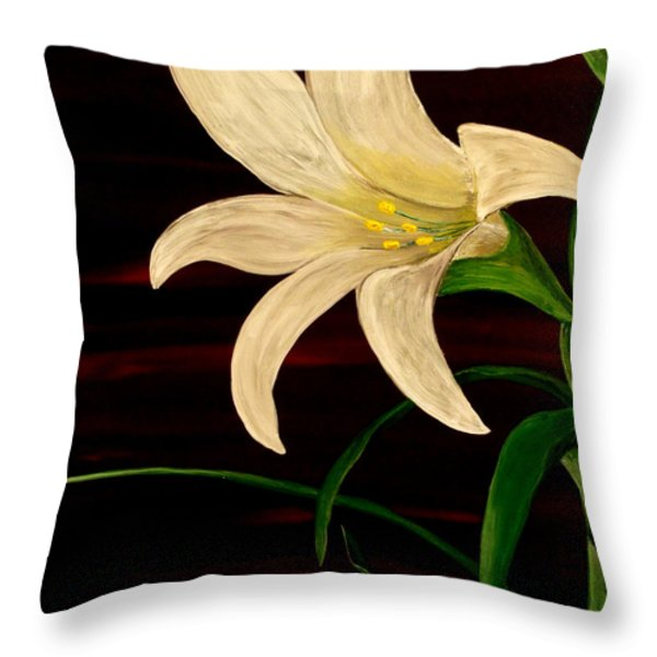 In Bloom Throw Pillow by Mark Moore