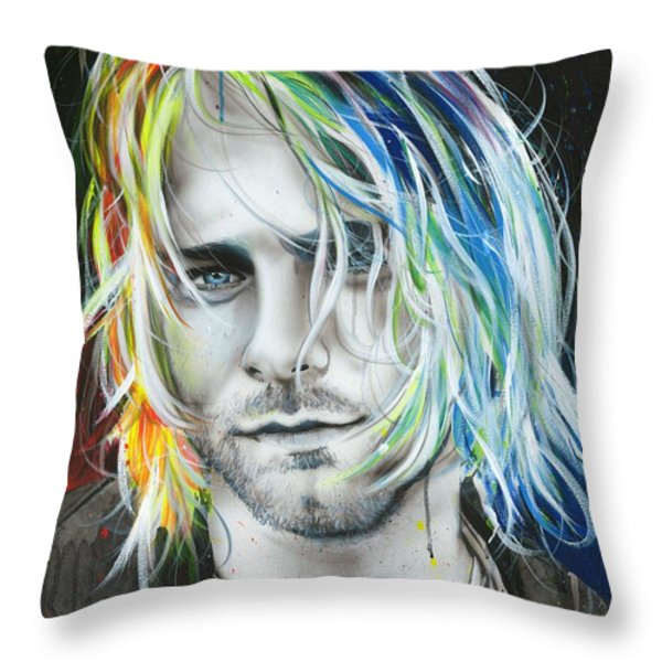 'in Debt For My Thirst' Throw Pillow by Christian Chapman Art