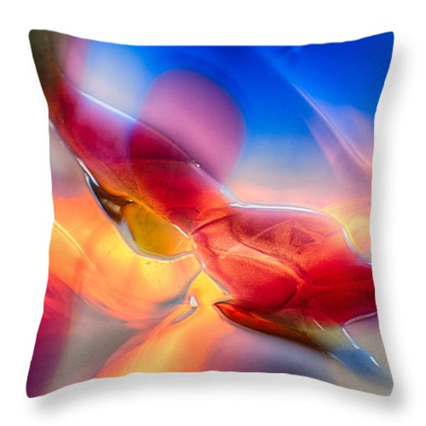 In Loving Color Throw Pillow by Omaste Witkowski