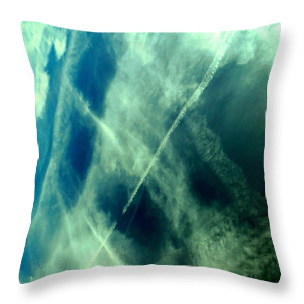 In Motion Throw Pillow by Dietmar Scherf