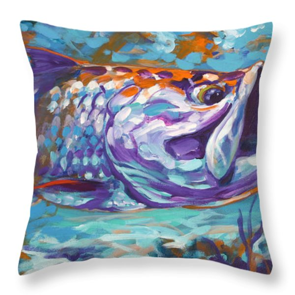 In The Flats Throw Pillow by Mike Savlen