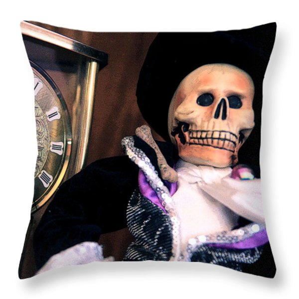 In The Fullness Of Time Throw Pillow by Joe Kozlowski