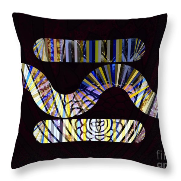 In the Middle Throw Pillow by Cheryl Young